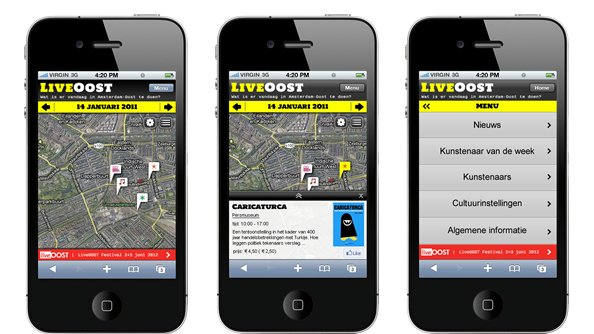 Live Oost mobile